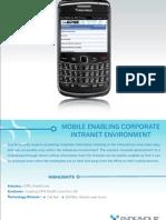 MobileEnablingCorporateIntranetEnvironment(Sharepoint)