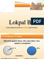 Jan Lokpal vs Govt. Lokpal