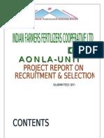 Recruitment & Selection Process