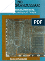 Ramesh Gaonkar - The z80 Microprocessor - 1988