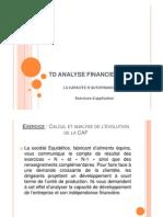 TD Analyse Financiere - 25.11.11