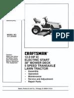 Craftsman Garden Tractor Manual 917.254520