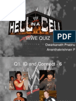 Hell in a Cell – The WWE Quiz