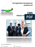 CMS Product Information