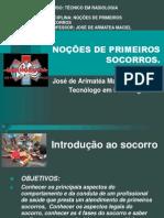 AULA INTRODUÇÃO AOS PRIMEIROS SOCORROS  2012 PRONTA