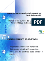 Curso de Nivel 3 Entrenadores de Tenis ITF, Cali - Colombia. Trabajo de los alumnos