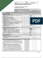 Cent Uhwo Checklist