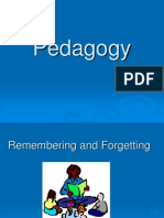Pedagogy-Remembering and Forgetting