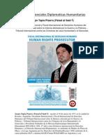 Cartas Credenciales Diplomaticas Humanitarias