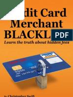 Credit Card Merchant Blacklist