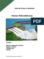 Usina Hidroelétrica 03