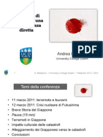 2012 - UNI 3 - Da Hiroshima a Fukushima -Andrea Ballatore - Slides