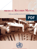 WHO-Medical Records Manual