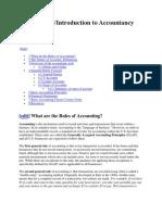 Accountancy Basic Concepts