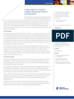 Toad for IBM DB2 Provides a Major U.S. Financial Institution with a Single Database Management Solution and Greater Productivity