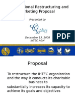 2008 AGM Presentation - Proposal