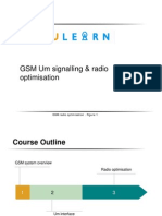 GSM Um Signalling ; Radio Optimisation Training Material