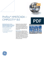 Proficy Cimplicity 8.0 Ds Gfa1233a