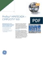 Proficy Cimplicity 8.0 Ds Gfa1233a