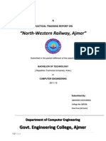 Railway Training Report