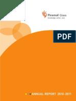 PGL Annual Report 2010-11
