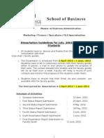 Guidelines & Assessment-Dissertation July10-12