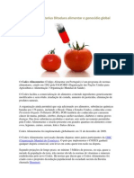 Codex Alimentarius Ditadura alimentar e genocídio global[1]