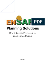 How to Control Documents in Construction Projects