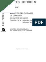 DTU-Fascicule 66-GC a Ossature en Acier
