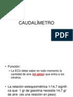 025 CAUDALÍMETRO