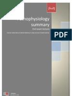 Pathophsiology Summary