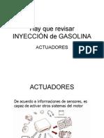 Inyeccion Gasolina Actuadores
