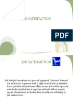 Job Satisfaction Presentation