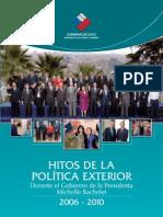 Hitos en Politica Exterior Bachellet