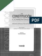 CDG - Comentarios al Art. 108 de la Constitución del Perú