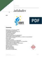 Especialidades en Scouts de Argentina