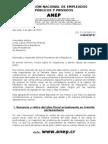 1-10-HACIENDA-Reforma Tributaria-Carta de La ANEP en Jueves Santo Para La Presidenta