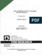 Intermediate Bulk Container-Scoping Tests