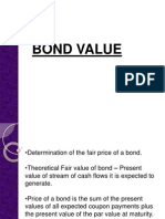 Bond Value - Yield