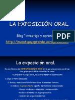 técnica de exposición oral