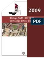 Runningback Drills TexasA M