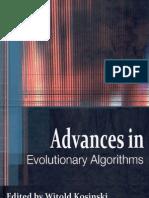 Advances Evolutionary Algorithms i to 08