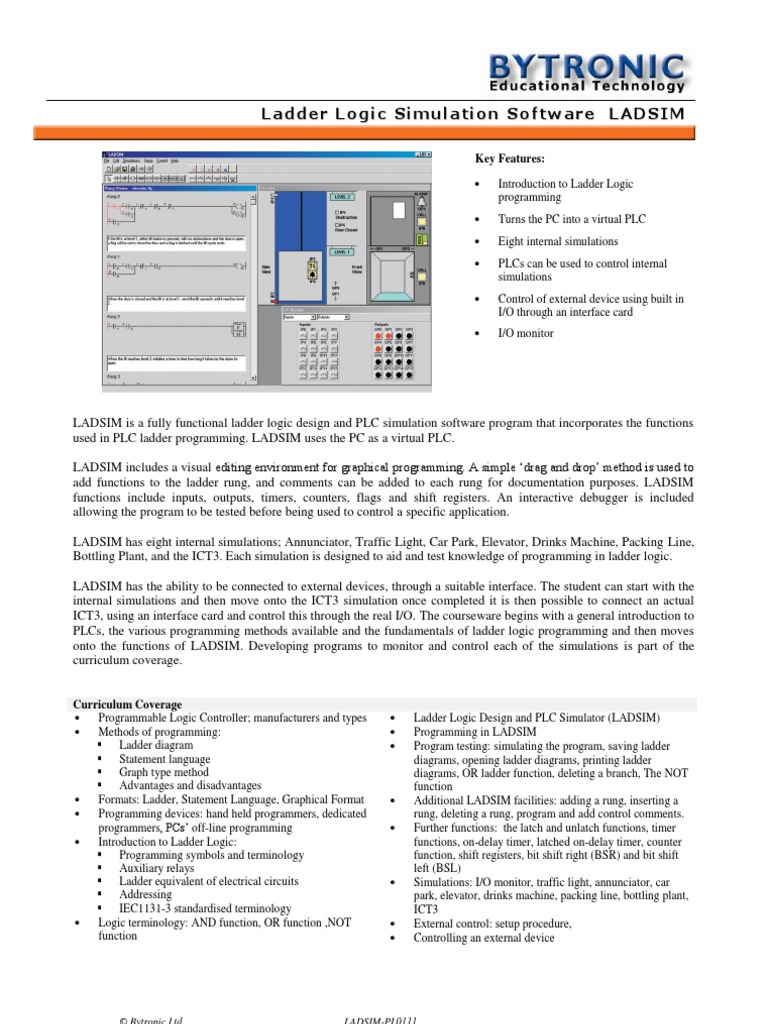 Ladsim programmable logic controller electronics ccuart Images
