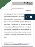Entre la ficción, el testimonio y el periodismo. La apuesta narrativa de los pasos previoes de Franciso Paco Urondo por Daniela Gauna