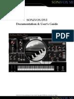 Sonivox Dvi User Guide