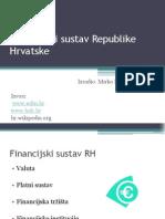 Financijski Sustav Republike Hrvatske