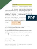 lista de exercício - binomial e poisson