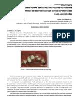 Traumatismo Dental (Decíduos)