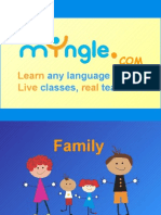 FOREIGN LANGUAGE LESSON - FAMILY