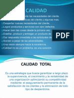 CALIDAD-ToTAL Enfoque Organizacional